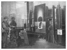 Verreries De BAGNEAUX SUR  LOING Brassage Mécanique Du Verre En Fusion 1934 - Old Paper