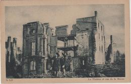 R :  Manche :  SAINT  LO : Vue   Rue  De La  Marne , Le  Théâtre - Saint Lo