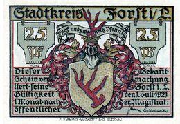 Billet De Nécessité Allemand De 25 Pfennig 1921 - - [ 3] 1918-1933: Weimarrepubliek