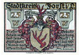 Billet De Nécessité Allemand De 25 Pfennig 1921 - - 1918-1933: Weimarer Republik