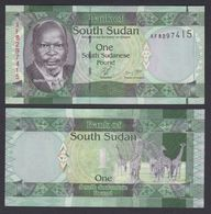 SOUTH SUDAN 1  2011 UNC - South Sudan