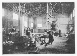 VIVIEZ La Vieille Montagne Vue De L'usine De Traitement De Minerais De Zinc 1934 - Vieux Papiers