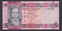 SOUTH SUDAN 5  2015 UNC - South Sudan