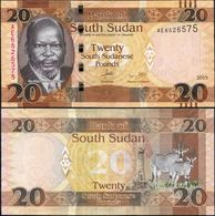 SOUTH SUDAN 20  2015 UNC - South Sudan