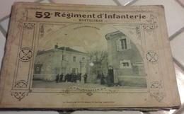 Album Photo 1911 52 ème Regiment D'Infanterie Montélimar Caserne St Martin - Militaria