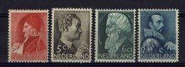 Pays-Bas - 1935 - Série Neuve Sans Charnière - XX - MNH - N° 272 à 275 - TB - - Periodo 1891 – 1948 (Wilhelmina)