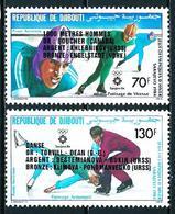 Yibuti Nº A-200/1 (sobrecarga) Nuevo - Yibuti (1977-...)