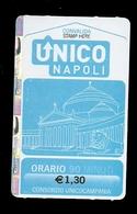 Biglietto Autobus Italia - Unico Napoli - 90 Minuti Da Euro 1.30 - Autobus