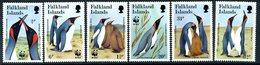 Falkland Islands 1991 King Penguins Set Of 6, MNH, SG 633/8 - Falkland Islands