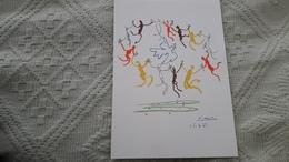 Picasso Pablo Ronde Pour La Jeunesse Editions Combat Pour La Paix - Peintures & Tableaux