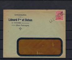 N°138 GESTEMPELD OP OMSLAG GRIFFE La Bouverie SUPERBE - 1915-1920 Albert I