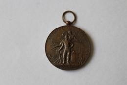 Medaille Pompier  Manoeuvre De Pompes à Incendie  GISORS 1897 - Pompiers