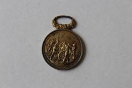 Medaille Pompier  Manoeuvre De Pompes à Incendie  Poinçon 1884 OISE  Formerie  Attribué - Firemen