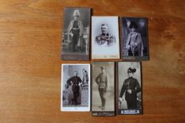 6 Cdv Armée Allemande Casque à Pointe , Husar , Chasseur Saxon  German Army  WWI - Guerra, Militares