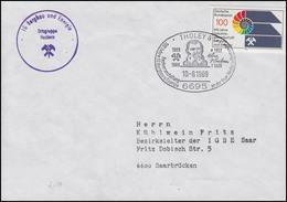 1436 IG Bergbau & Energie EF Bf. SSt Tholey Festakt Gewerkschaft 10.8.1989 - Usines & Industries
