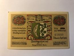 Allemagne Notgeld Immenstadt 50 Pfennig - [ 3] 1918-1933 : République De Weimar