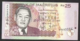 MAURITIUS  25    1999 UNC - Mauritius