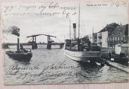 Germany 1907 Partie An Der Oder Schwedt Bends - Non Classificati