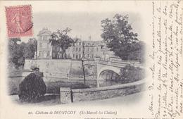 CPA 71 @ SAINT MARCEL LES CHALON - Château De Montcoy En 1905 - Autres Communes