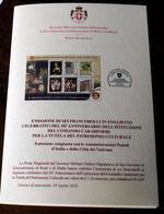 SMOM 2019. 5OTH ANNIV. FOUNDATION CARABINIERI TUTELA PATRIMONIO CULTURALE OFFICIAL BULLETTIN - Sovrano Militare Ordine Di Malta