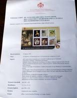 SMOM 2019. 5OTH ANNIV. FOUNDATION CARABINIERI TUTELA PATRIMONIO CULTURALE ORDER OF ISSUE - Sovrano Militare Ordine Di Malta