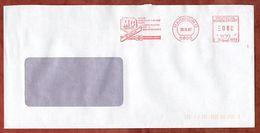 Brief, Pitney Bowes E10-8058, Fuchs Mineraloel, 80 Pfg, Mannheim 1987 (73057) - [7] République Fédérale