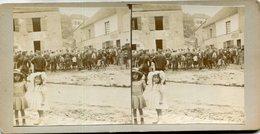 PHOTO CARTONNEE STEREO(militaire) - Fotos Estereoscópicas