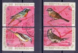 Rep. Du Burundi - Vogels - 3 Scans - Passereaux