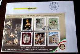 ITALY 2019. 5OTH ANNIV. FOUNDATION CARABINIERI TUTELA PATRIMONIO CULTURALE FDC - F.D.C.