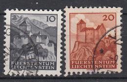 LIECHTENSTEIN - Michel - 1943 - Nr 222/23 - Gest/Obl/Us - Liechtenstein