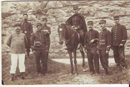Cp Photo Militaire écrite De Cahors - Reggimenti
