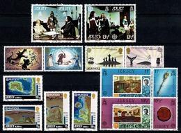 Jersey 1980/83 EUROPA Yv 213/16, 247/50, 272/75, 293/96**, Mi 219/22, 253/56, 278/81, 299/302** MNH - Jersey