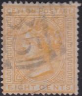 Ceylon      .   SG      .    124a      .   O      .       Cancelled      .   /    .   Gebruikt - Ceylon (...-1947)