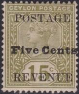 Ceylon      .   SG      .    233i         .  *     .       Mint-hinged     .   /    .   Ongebruikt - Ceylon (...-1947)