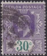 Ceylon      .   SG      .    273      .   O      .       Cancelled      .   /    .   Gebruikt - Ceylon (...-1947)