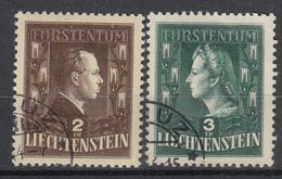 LIECHTENSTEIN - Michel - 1944 - Nr 238/39 - Gest/Obl/Us - Liechtenstein