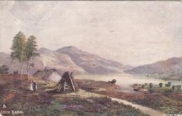 LOCH EARN - Gel.1920 - Schottland