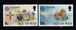 Man 1981 EUROPA Yv 182/83**, Mi 187/88** MNH - Man (Ile De)