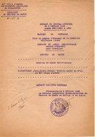 VP14.874 - MILITARIA - STRASBOURG 1923 - Extrait Du Journal Officiel Relatif Au Médecin FROUSSARD ( Légion D'Honneur ) - Documents