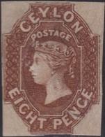 Ceylon      .   SG      .    7 Repaired  (2 Scans)     .    *      .      Mint-hinged     .   /    .   Ongebruikt - Ceylon (...-1947)
