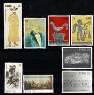 Eire 1980/83 EUROPA Yv  418/19**, 440/41**, 467/68**, 504/05**, Mi 417/18, 439/40**, 466/67**, 508/09** MNH - 1949-... République D'Irlande