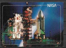 POSTCARD SPACE SHUTTLE - Space