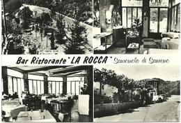 REAL PHOTOGRAPHIC POSTCARD - BAR RESTAURANT - LA ROCCA - SANROMOLO - SAN REMO - LUGURIALY - San Remo