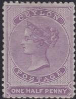 Ceylon      .   SG      .    48c          .    *    .      Mint-hinged     .   /    .   Ongebruikt - Ceylon (...-1947)