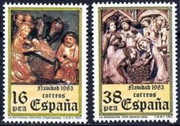 España. Spain. 1983. Navidad - 1981-90 Nuevos & Fijasellos