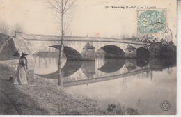 VOUVRAY - Le Pont ( Pêche à La Ligne )  PRIX FIXE - Vouvray