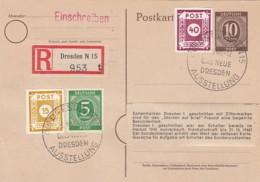Allierter Besetzung R Postkarte 1946 - Germany