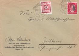 Allierter Besetzung Brief 1945 - Allemagne