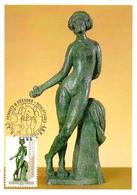 France  2019 CM : Le Nu Dans L'Art. Sculpture Antoine Bourdelle. Obliteration 1er Jour 29/03/2019 Paris. - Cartes-Maximum