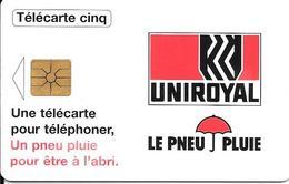 CARTE-FR-PRIVEE-Gn266-09/96-GEMA-UNIROYAL- Série B68168001-Utilisé TBE - France